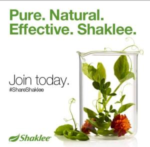 Join Shaklee today