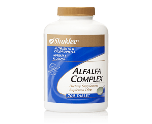 Shaklee Alfalfa Complex (S)