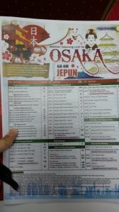Osaka Japan Fight Trip