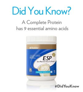 Shaklee ESP Did You know