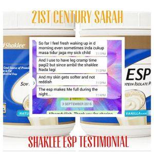 Shaklee ESP Testimonial 02