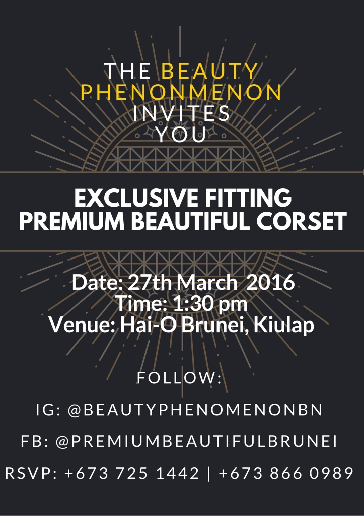 PBC Invite - Beauty Phenomenon